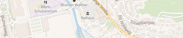 Karte Parkhaus Rathaus Herbrechtingen