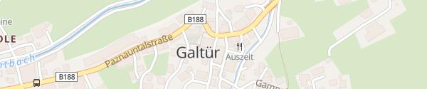 Karte Gemeindeamt Galtür
