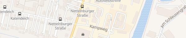Karte Nissan Autohaus Günther Hamburg
