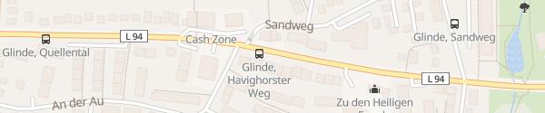 Karte Möllner Landstraße Glinde