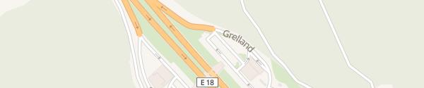 Karte Burger King Grelland Nord Holmestrand