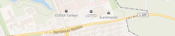 Karte EDEKA Bleise Hamburg