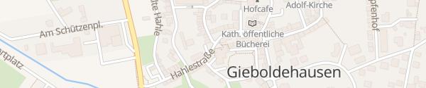 Karte Gemeindeverwaltung Gieboldehausen