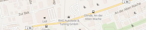 Karte Sportplatz Glinde