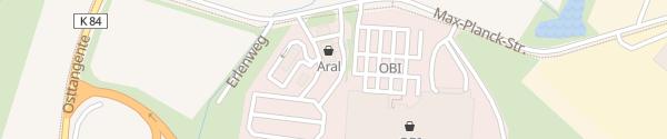 Karte Aral Tankstelle Winsen (Luhe)
