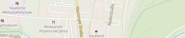 Karte Kaufland Bad Neustadt an der Saale