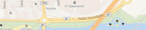 Karte Schnellladesäule CC Drammen Drammen