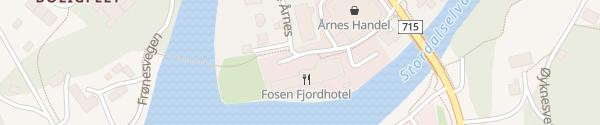 Karte Fosen Fjordhotel Åfjord