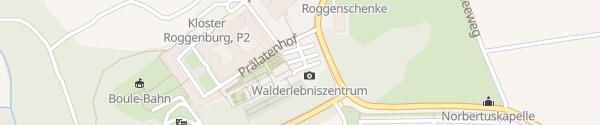 Karte Kloster Roggenburg Roggenburg