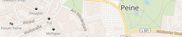 Karte Rathaus Peine