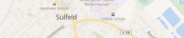 Karte Schule im Alsterland Sülfeld