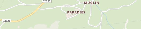 Karte Hotel Paradies Scuol