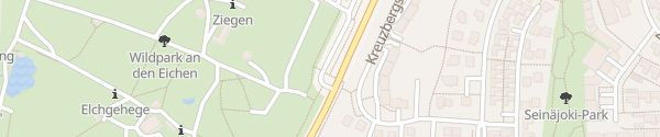 Karte Wildpark an den Eichen Schweinfurt