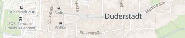 Karte Hotel zum Löwen Duderstadt