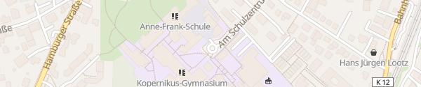Karte Schulzentrum Bargteheide