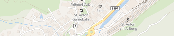 Karte EWA St. Anton am Arlberg
