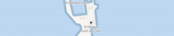 Karte Endelave Havn Endelave By