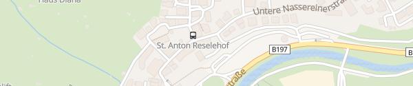 Karte Hotel Nassereinerhof St. Anton am Arlberg