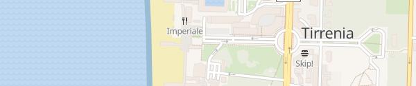 Karte Piazza Belvedere Pisa