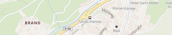 Karte Parking Lounge Gemeindeamt Ischgl