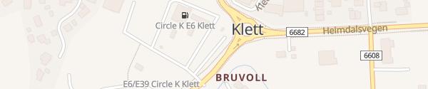 Karte IONITY Klett Leinstrand
