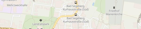 Karte EWS-Servicecenter Bad Segeberg