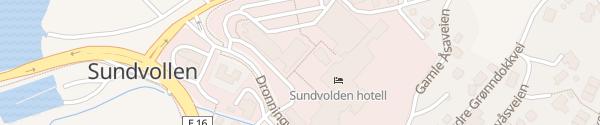 Karte Sundvolden Hotel Krokkleiva