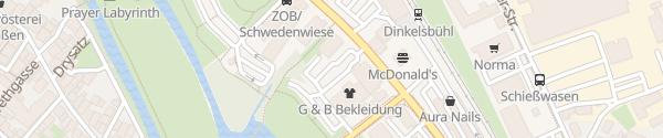 Karte VR Bank Dinkelsbühl