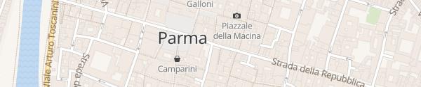 Karte Ladesäule Parma