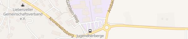 Karte Schulzentrum Feuchtwangen