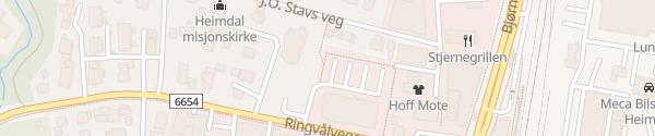 Karte Rema 1000 Heimdal