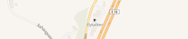 Karte Flykafen Barkåker