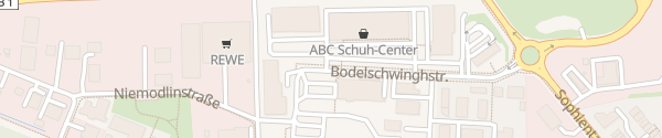Karte Einkaufszentrum Vechelde