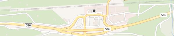 Karte Raststation Schnann Pettneu am Arlberg