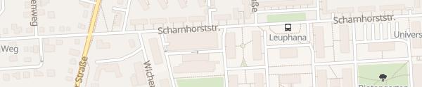 Karte Parkhaus Leuphana Universität Lüneburg