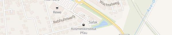 Karte Aue-Einkaufszentrum Wendeburg