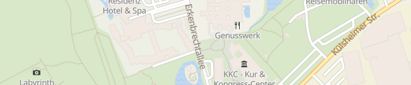 Karte Franken-Therme Bad Windsheim