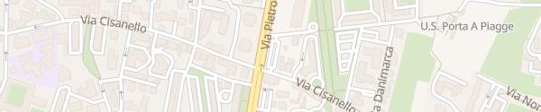 Karte Enel Drive Säule Pisa