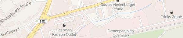 Karte McDonald's Peter-Henlein-Straße Goslar