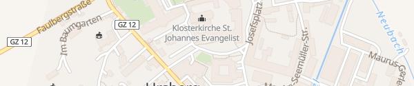 Karte Klosterladen Ursberg