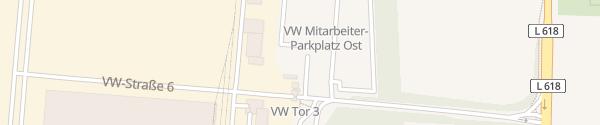Karte Parkplatz Ost Volkswagen Werk Salzgitter Salzgitter