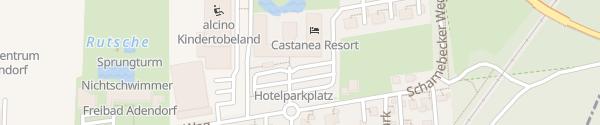Karte Castanea Resort Adendorf