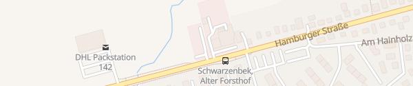 Karte Autohaus Päsler Schwarzenbek