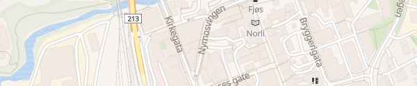 Karte Scandic Victoria Hotel Lillehammer