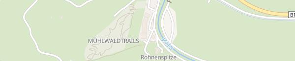 Karte Biohotel Bergzeit Zöblen