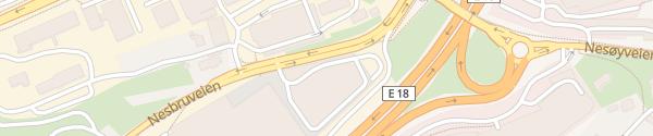 Karte IKEA Slependen Billingstad