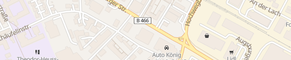 Karte Volkswagen Autohaus König Nördlingen