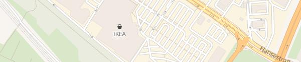 Karte IKEA Braunschweig