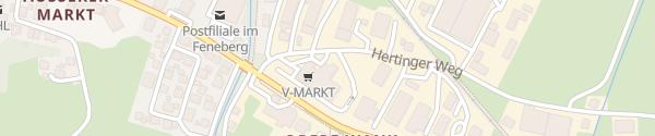 Karte V-Markt Nesselwang