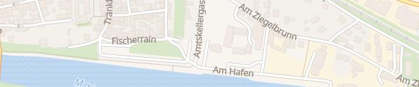 Karte Amtskellergasse Haßfurt